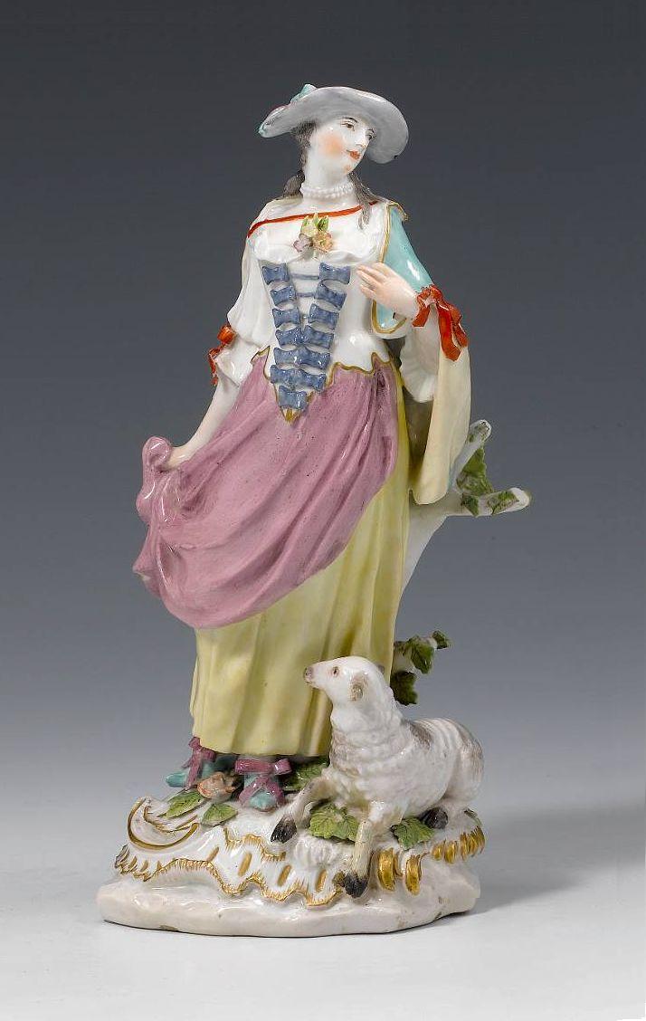 Chelsea_Porcelain_Factory_-_Shepherdess_-_c1760
