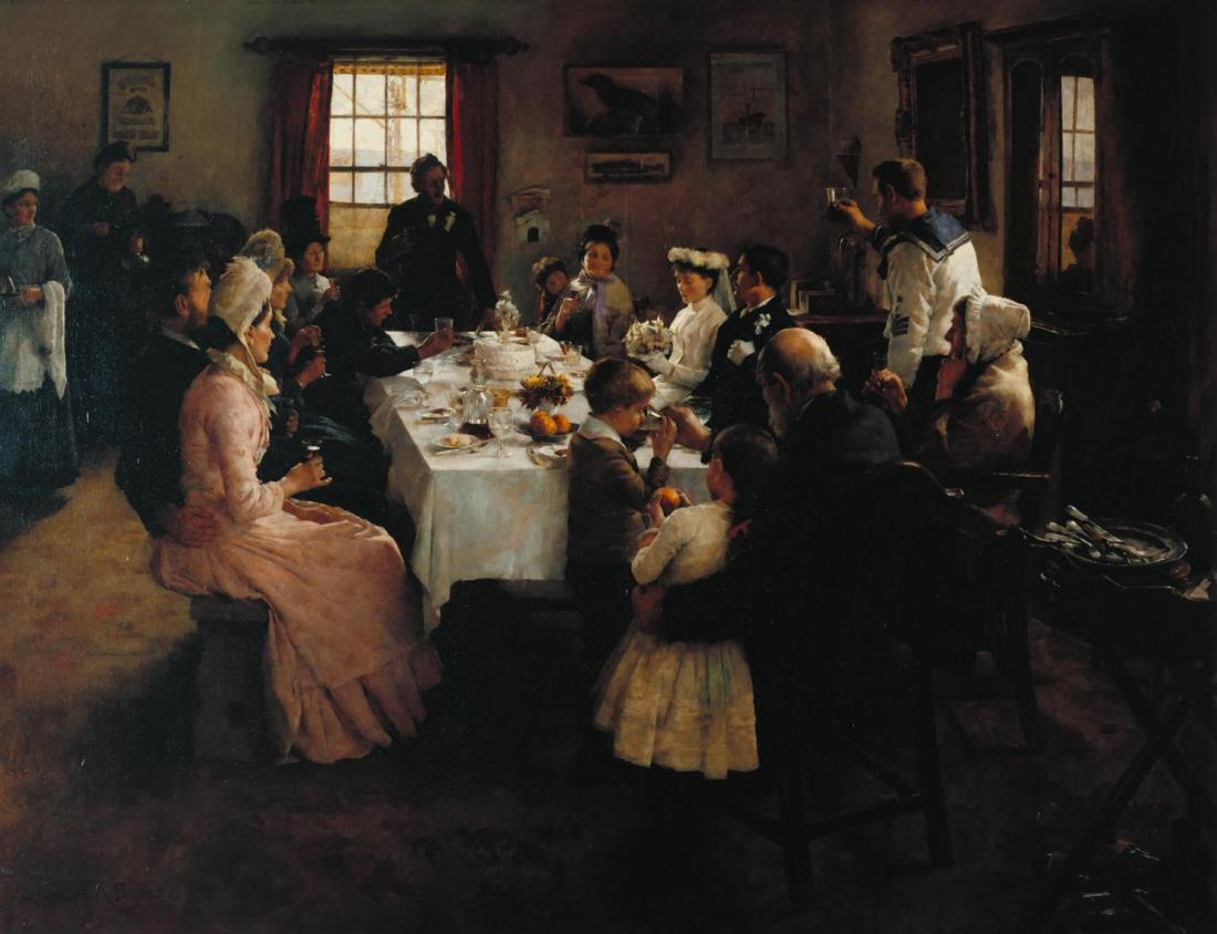 The Health of the Bride 1889 by Stanhope Alexander Forbes 1857-1947