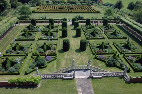 parterre east garden